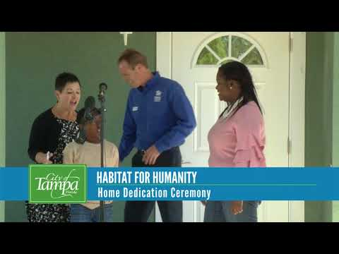 Habitat For Humanity Dedication