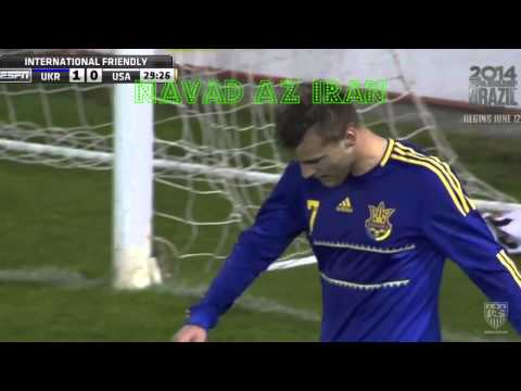 Highlights Ukraine Defeats United States  MNT 2 0 In An Exhibition With Deeper Meaning March 5, 2014