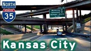 Video I-35 North to the Kansas City Loop download MP3, 3GP, MP4, WEBM, AVI, FLV November 2017