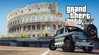 IN VACANZA A ROMA! 🇮🇹 - GTA 5 MOD VITA REALE⁵ #14