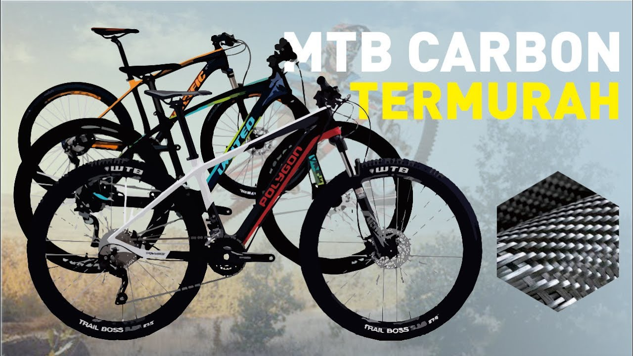 8 Sepeda MTB Hardtail Carbon Termurah - YouTube