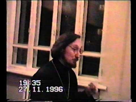 О.Георгий Чистяков - фрагмент беседы о христианстве