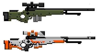 Как собрать топовую винтовку/ майнкрафт оружие