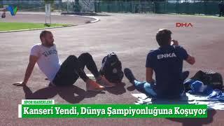 Kanseri Yendi, Dünya Şampiyonluğuna Koşuyor