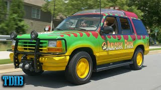 homepage tile video photo for Jurassic Park Ford Explorer Review! T-Rex's Dinner On Wheels