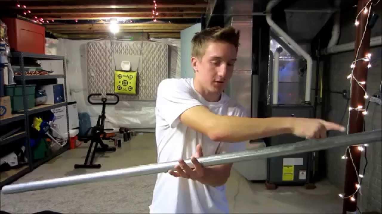 How To Make A Homemade Bench Press Set Youtube