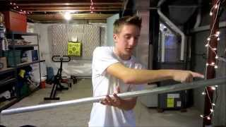 How To Make A Homemade Bench Press Set
