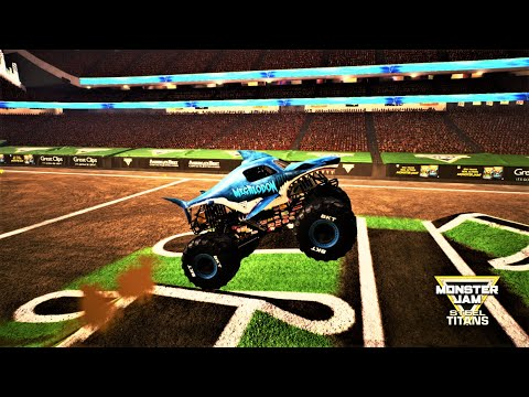 Download Monster Jam Steel Titans Megalodon Best Freestyle Moments Gameplay