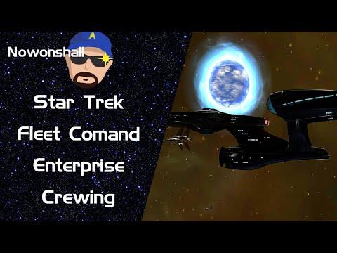 Star Trek - Fleet Command - Enterprise Crewing