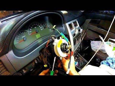 Как правильно установить шлейф на руль видео