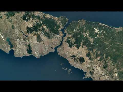 Google Timelapse  İstanbul, Turkey