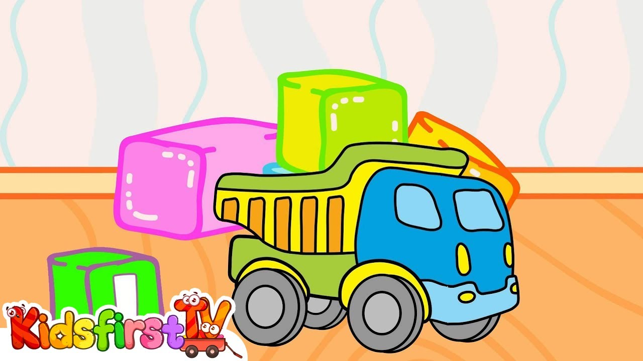 My Toys Cartoons For Kids Truck Bulldozer Youtube