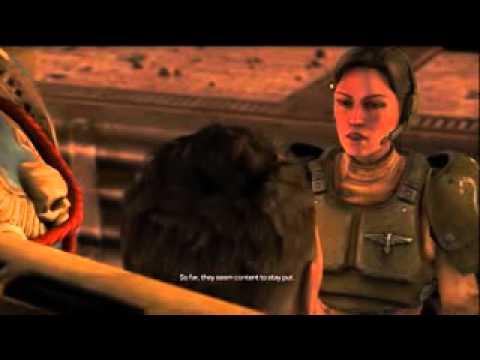 Titus meets Lieutenant Mira