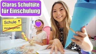 Claras Schultüte 😍 Einschulung 2018! Mama Tochter Tag | Wocheneinkauf Food Haul VLOG | Mamiseelen