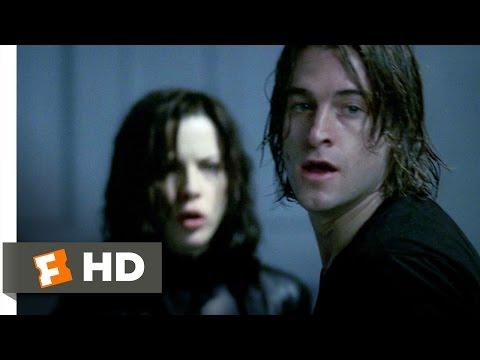 Underworld 38 Movie   Selene Rescues Michael 2003 HD