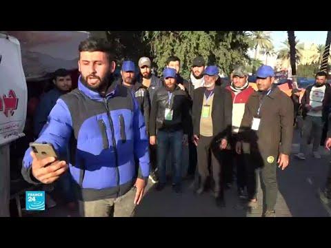 العراق.. أنصار الصدر يخترقون مراكز اعتصام المتظاهرين ويوسعونهم ضربا  - 15:01-2020 / 2 / 12