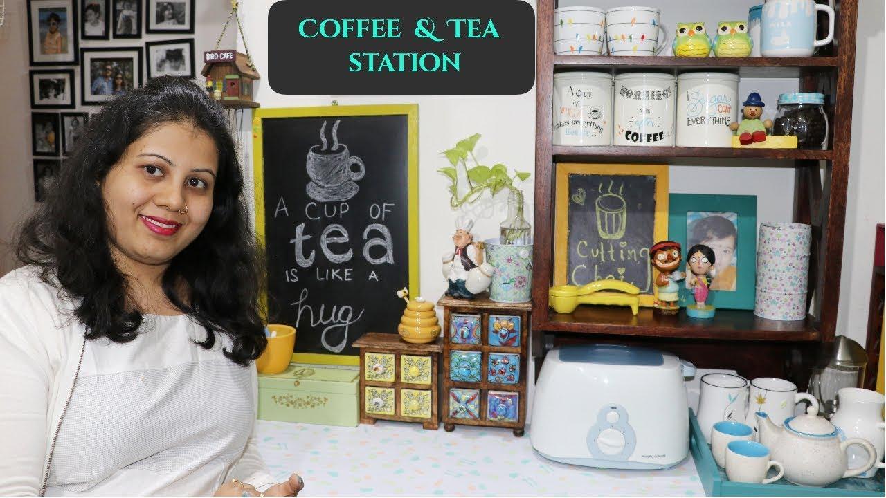 Tea Coffee Station Kitchen