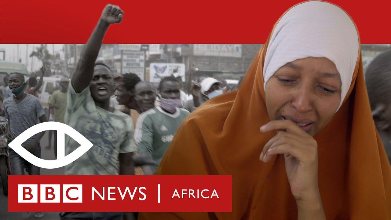The Bullet and the Virus: Police brutality in Kenya's battle against coronavirus - BBC Africa E