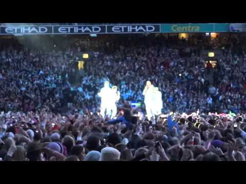 22nd June - Westlife Farewell Tour 2012 @ Croke Park - Set 3 - among the crowd