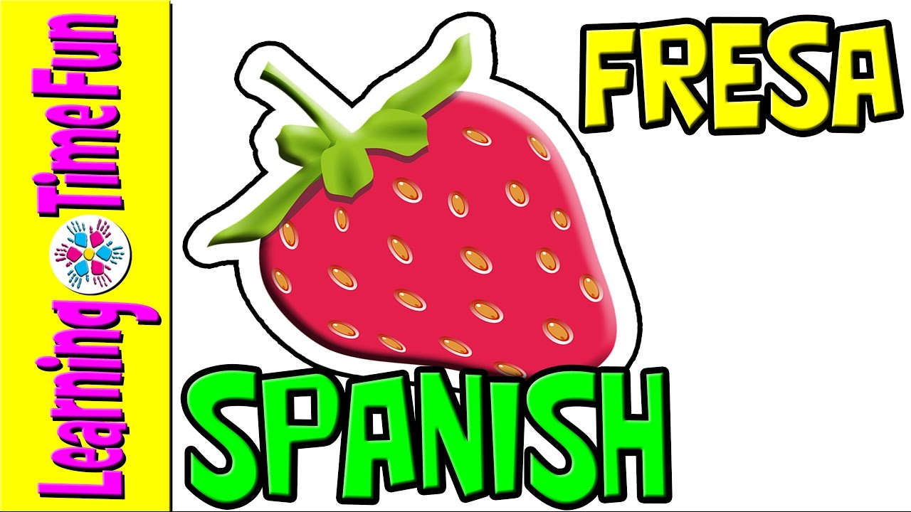 fruits and vegetables in spanish spanish language spanish