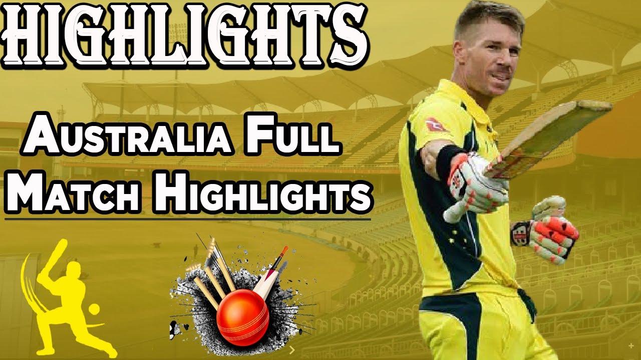 Australia vs Pakistan   Full Highlights   PCB   MA2E