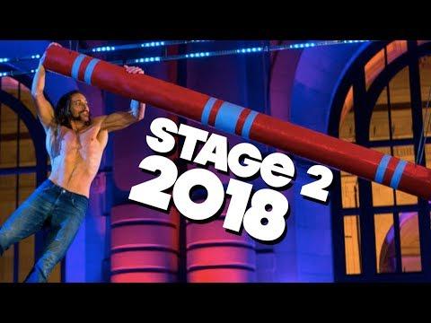 AMERICAN NINJA WARRIOR TESTING 2018: NATIONAL FINALS FT. ISAAC CALDIERO (STAGE 2+3)