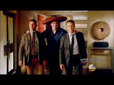 """Castle 8x04 """"What Lies Beneath"""" Fiesta in the Loft Season 8 Episode 4"""