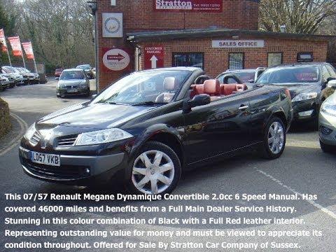 renault megane dynamique cabriolet 01825 713793 youtube. Black Bedroom Furniture Sets. Home Design Ideas