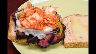 Pastrami Sandwich Recipe - Smoked Pastrami From Corned Beef