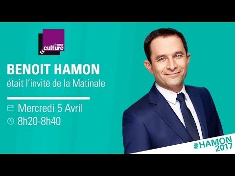 Benoît Hamon invité de france culture  05/04
