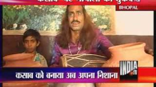 Indian idol 5 Surma Bhopali Sings For Kasab