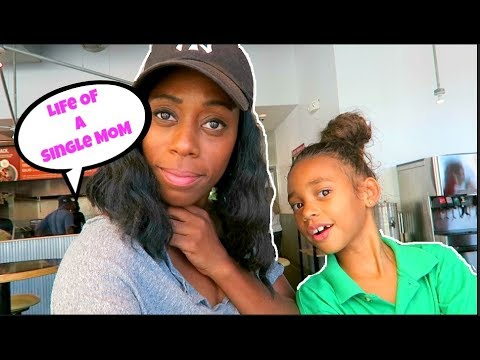 Day In The Of A Single MOM & Kids | Britt's Space | Vlog