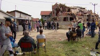 Srušena džamija u Zemun Polju