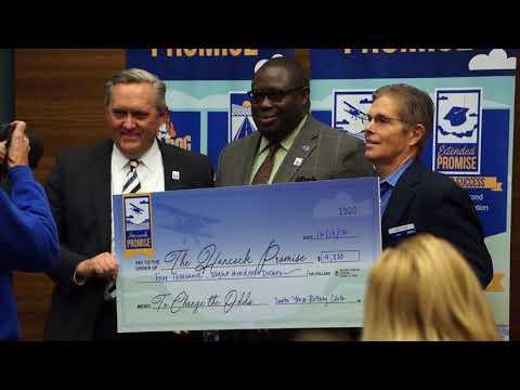 Hancock College unveils $10 million Promise endowment