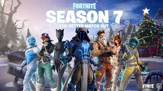 SEASON 7 REVIEW!! BATTLE PASS, NEW MAP, Skins, Tools, Pets..!! Fortnite Battle Royale Gameplay!!