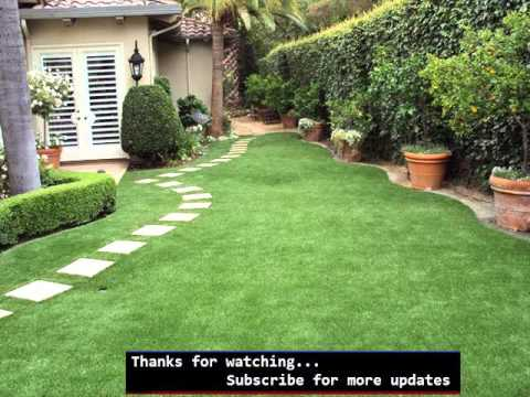 Exceptionnel Artificial Grass Backyard Designs | Fake Grass Picture Collection