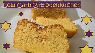 Low-Carb Zitronenkuchen, super saftig, super einfach, super schnell gemacht!