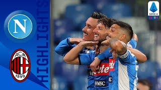 Napoli 2-2 Milan | The Points Are Shared Between Napoli And Milan | Serie A Tim