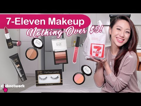 7-Eleven Makeup Review (Nothing Over $5!) - Tried And Tested: EP124