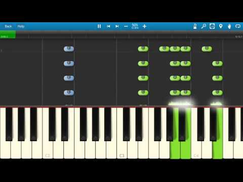 Blur - There Are Too Many Of Us - Piano Tutorial - Synthesia - How To Play
