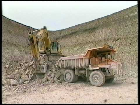 Blue Circle Industries - UK Cement - Westbury, Wiltshire Promotional Videos. C.1997