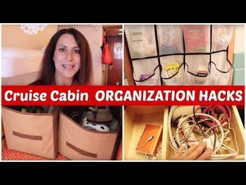 Cruise Cabin Organization Tips