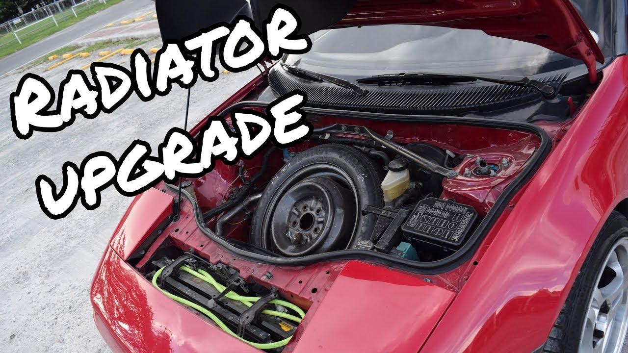 Project Mr2 Aluminum Radiator Upgrade Youtube Engine Wiring Diagram 85