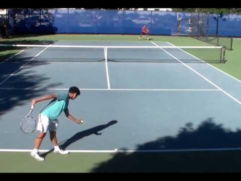 Jason Park - College Tennis Recruiting Video - Fall 2017