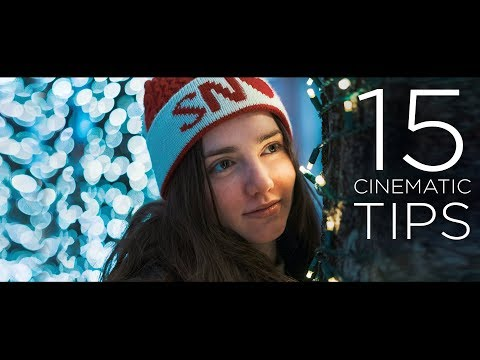 15 HACKS to Make Your Video CINEMATIC!