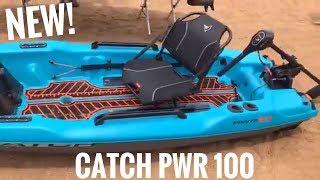 PELICAN CATCH PWR 100 - trolling motor or gas outboard kayak!