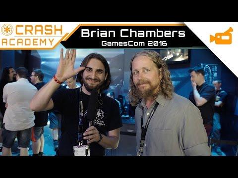 Star Citizen - Interview Brian Chambers GamesCom 2016 (EN)