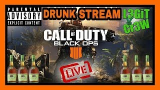 Call Of Duty BO4! Saturday Night Grown Folks Sipping & Gaming On Black Ops 4! #L3GiTCr3W #BO4