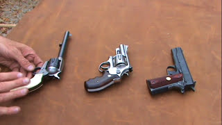 Three Basic Handgun Types thumbnail