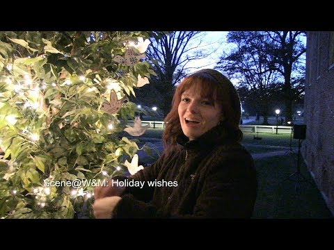 Scene@W&M: Holiday wishes